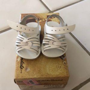 Salt water sandals for baby